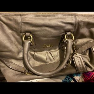 Coach Madison Sabrina Satchel olive color
